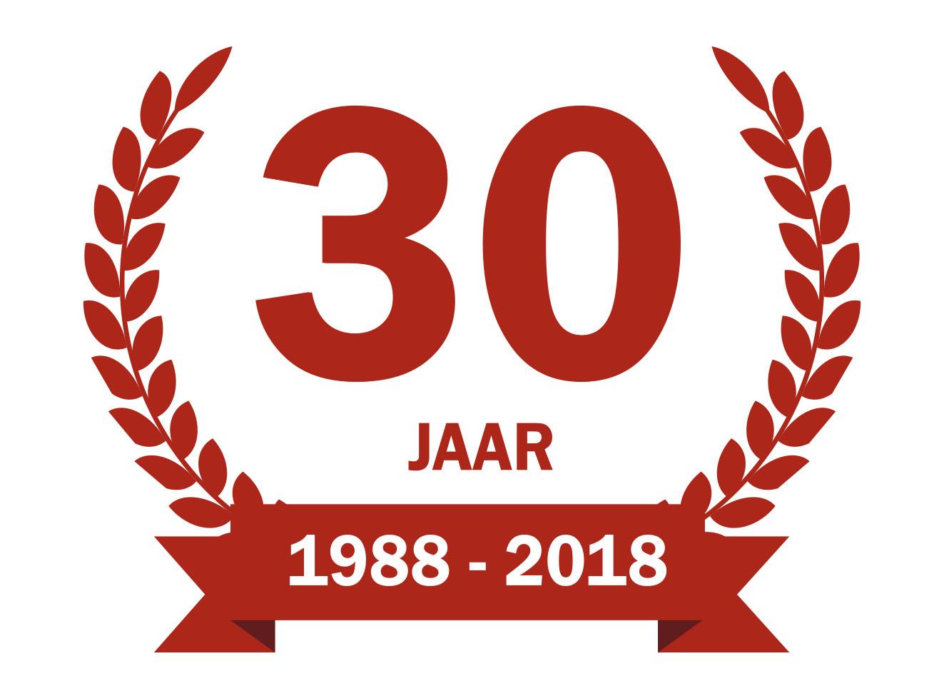 30 jarig jubileum Jubileumweekend 30 jarig jubileum